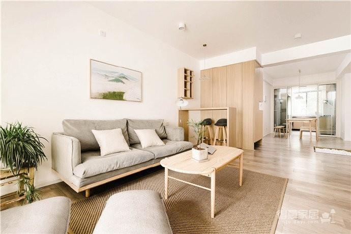 110平日式风格装修,简单的色彩,清晰的线条, 温润的原木,干净的材质