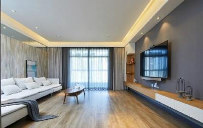 现代简约三居室装修,简约温馨的住宅空间设计! 