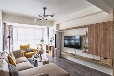 60㎡北欧风格两居室装修设计,简单温馨的实用小户型! 