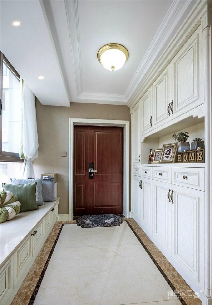 简约美式风格三居室装修设计图_3