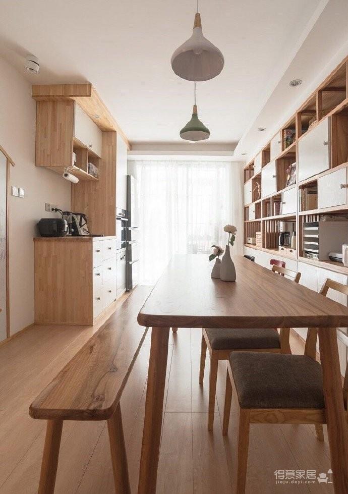 60平小户型装修,很喜欢,很美!家不需要奢华,适合自己才是最重要的! 图_5