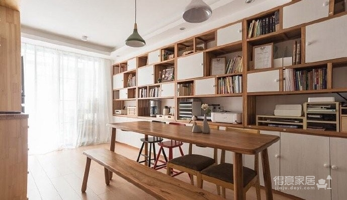60平小户型装修,很喜欢,很美!家不需要奢华,适合自己才是最重要的! 图_1