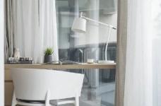 温润原木与质朴水泥的搭配,营造了这个简约现代风格的素雅空间! 图_8