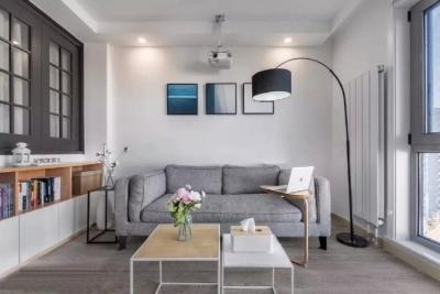 35㎡简约北欧风格小窝,温馨的小户型公寓设计,值得参考! 