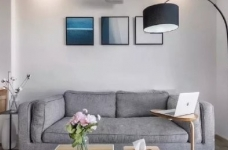 35㎡简约北欧风格小窝,温馨的小户型公寓设计,值得参考! 图_1