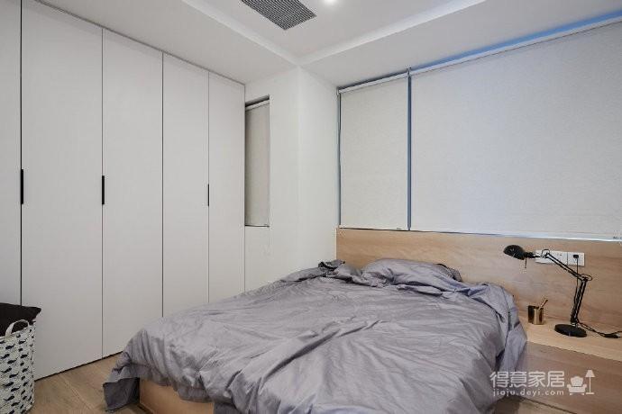 89㎡简约北欧风格三居室装修,清新雅致又舒适的家! 