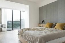 温润原木与质朴水泥的搭配,营造了这个简约现代风格的素雅空间! 图_4