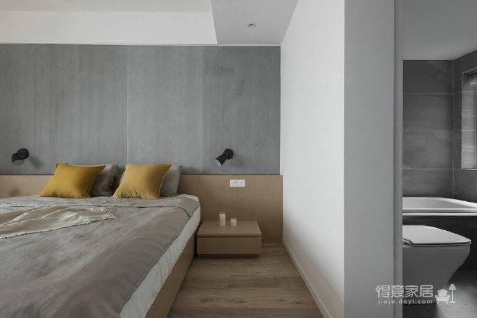 温润原木与质朴水泥的搭配,营造了这个简约现代风格的素雅空间! 图_2