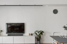 89㎡简约北欧风格三居室装修,清新雅致又舒适的家! 图_1