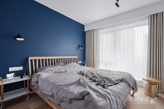89㎡简约北欧风格三居室装修,清新雅致又舒适的家! 图_4