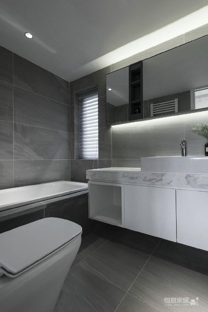 温润原木与质朴水泥的搭配,营造了这个简约现代风格的素雅空间! 图_7