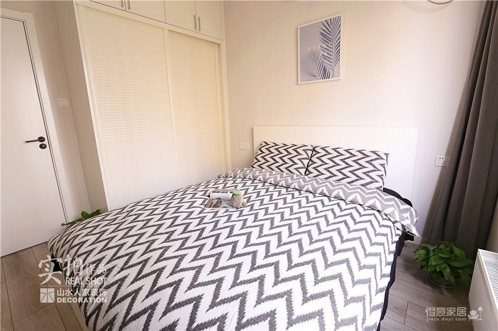 111平三室温馨北欧婚房设计