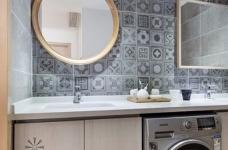 整体以木色、白色为设计基调,材料的纯度、简单的元素、以及值得推敲的定制细节是本案的标志。用平静的心灵看世界,利用淡淡的家具布局把原有的空间净化,把气质和品位含蓄地表现出来……图_8