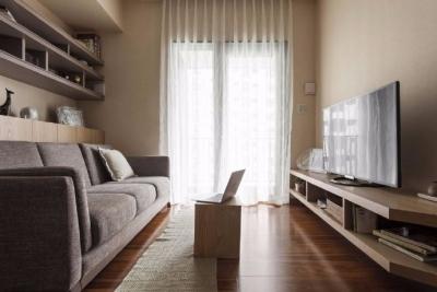 简约日式风住宅设计,暖暖的色调,感觉还温馨!