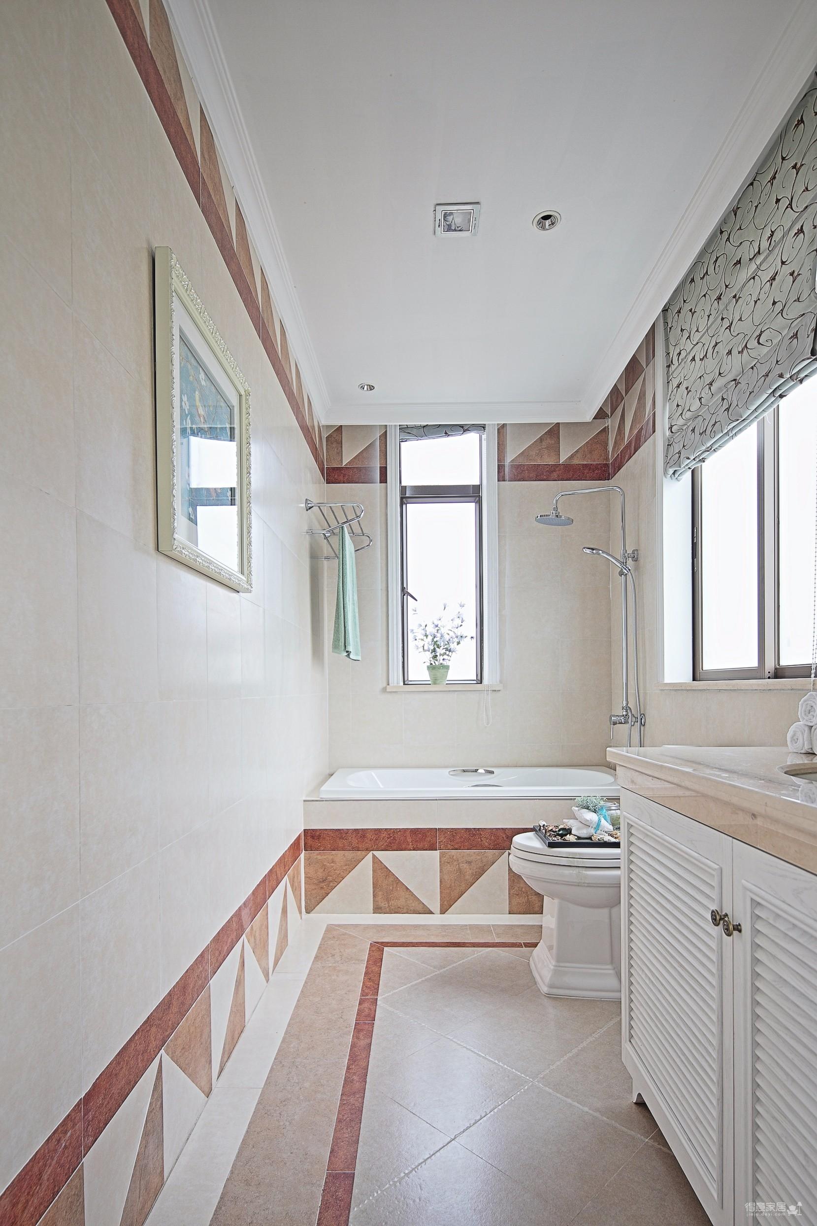 地中海风格  四室两厅豪华装修
