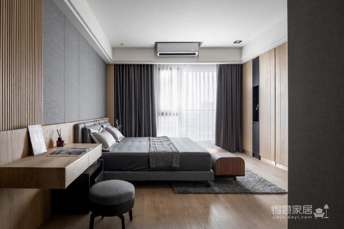 简约台式风格家居设计,冷系石材与暖系木质共同打造的质感空间! 