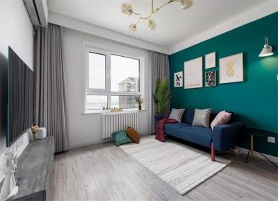 69㎡简约两居室,一家三口的生活和收纳都满足了!