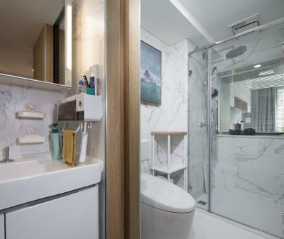 80㎡小户型老房改造,秒变清新自然的简约北欧风格,美爆了! 