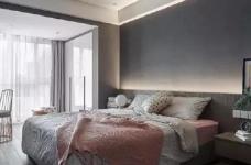 粉色与灰色并存于同一空间,相辅相成,既有灰色的高级奢侈感又有粉色带来的艺术气息,下次家里也这么设计吧~ 图_5