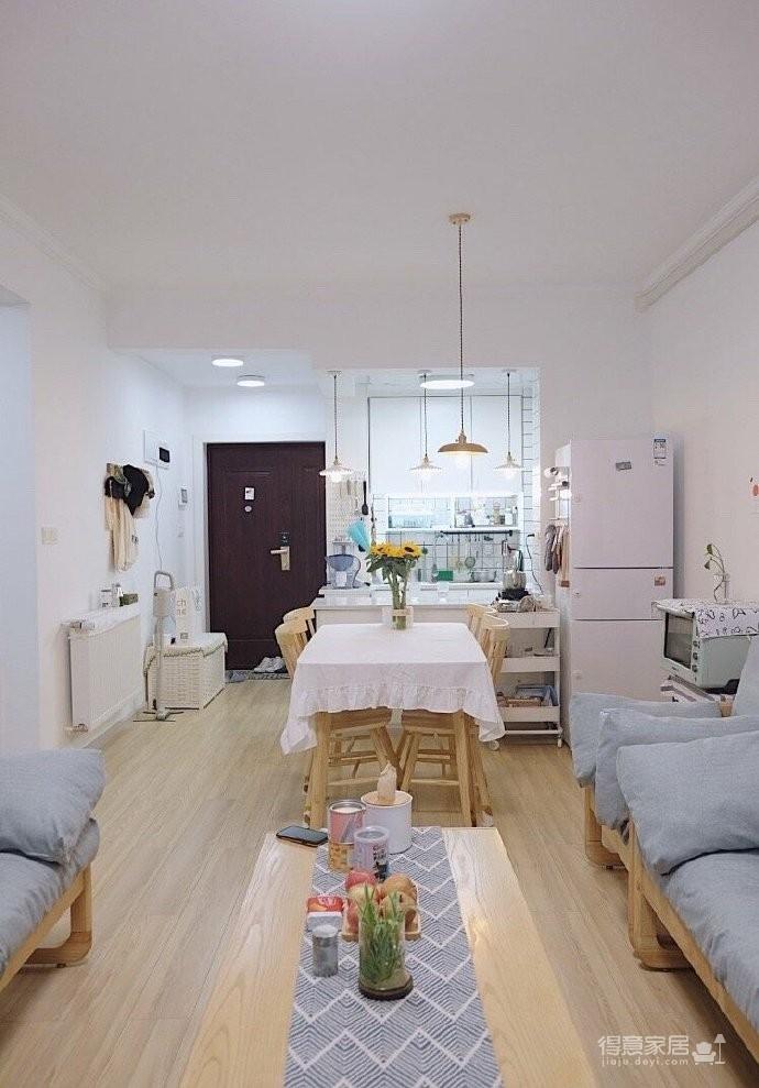 木质的家具好温馨,适合小户型,很温暖的家~ 屋住图_3