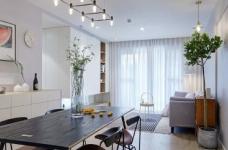 89平现代简约家装,空间围绕莫兰迪灰展开图_7