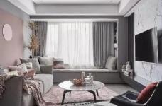 粉色与灰色并存于同一空间,相辅相成,既有灰色的高级奢侈感又有粉色带来的艺术气息,下次家里也这么设计吧~ 图_1