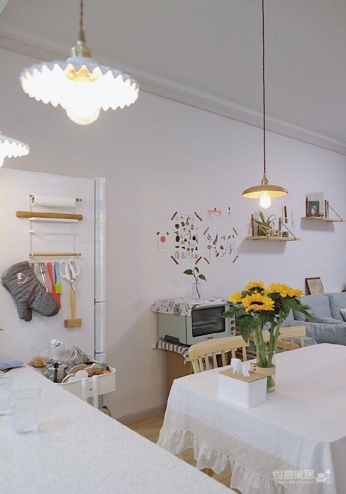 木质的家具好温馨,适合小户型,很温暖的家~ 屋住图_2