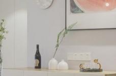 89平现代简约家装,空间围绕莫兰迪灰展开图_4