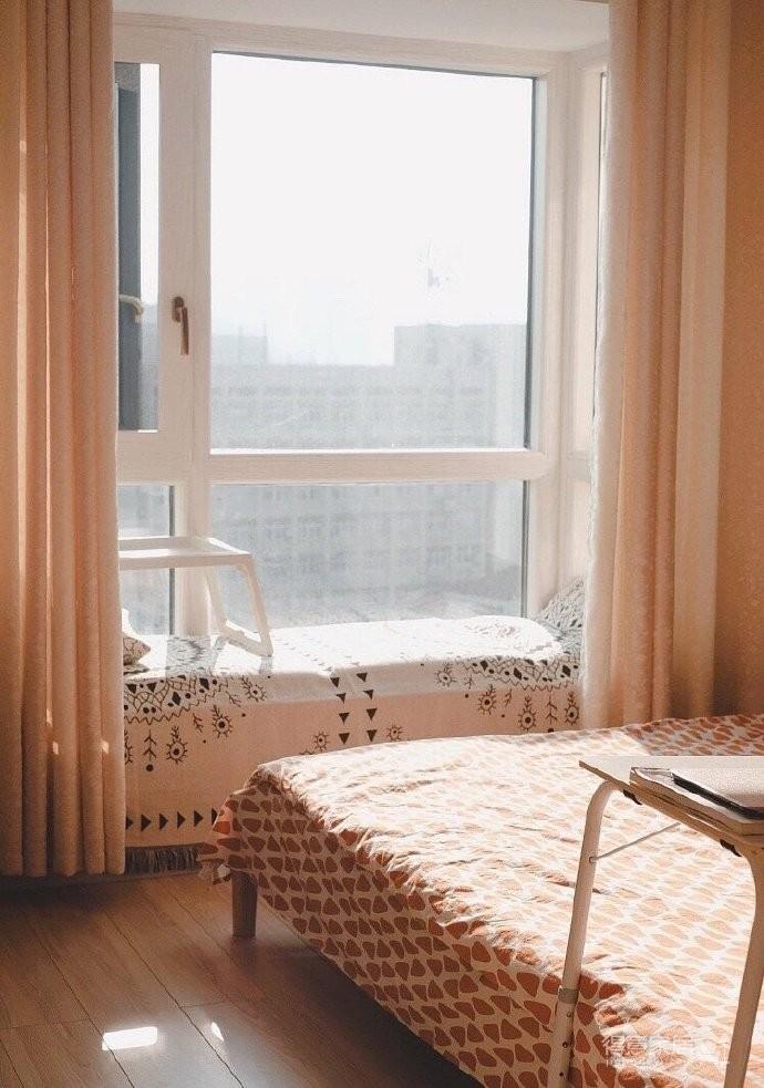 木质的家具好温馨,适合小户型,很温暖的家~ 屋住图_5