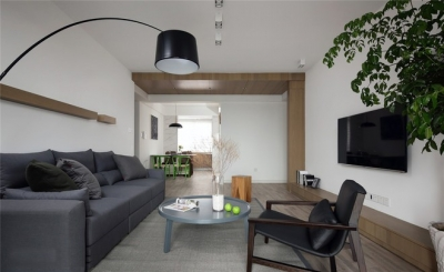 三居室现代简约风