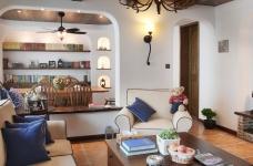 130㎡空间里的圆拱门,让家更添复古时尚气息图_9