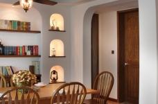 130㎡空间里的圆拱门,让家更添复古时尚气息图_4