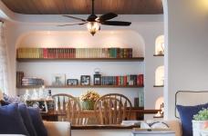 130㎡空间里的圆拱门,让家更添复古时尚气息图_5