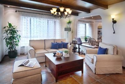 130㎡空间里的圆拱门,让家更添复古时尚气息