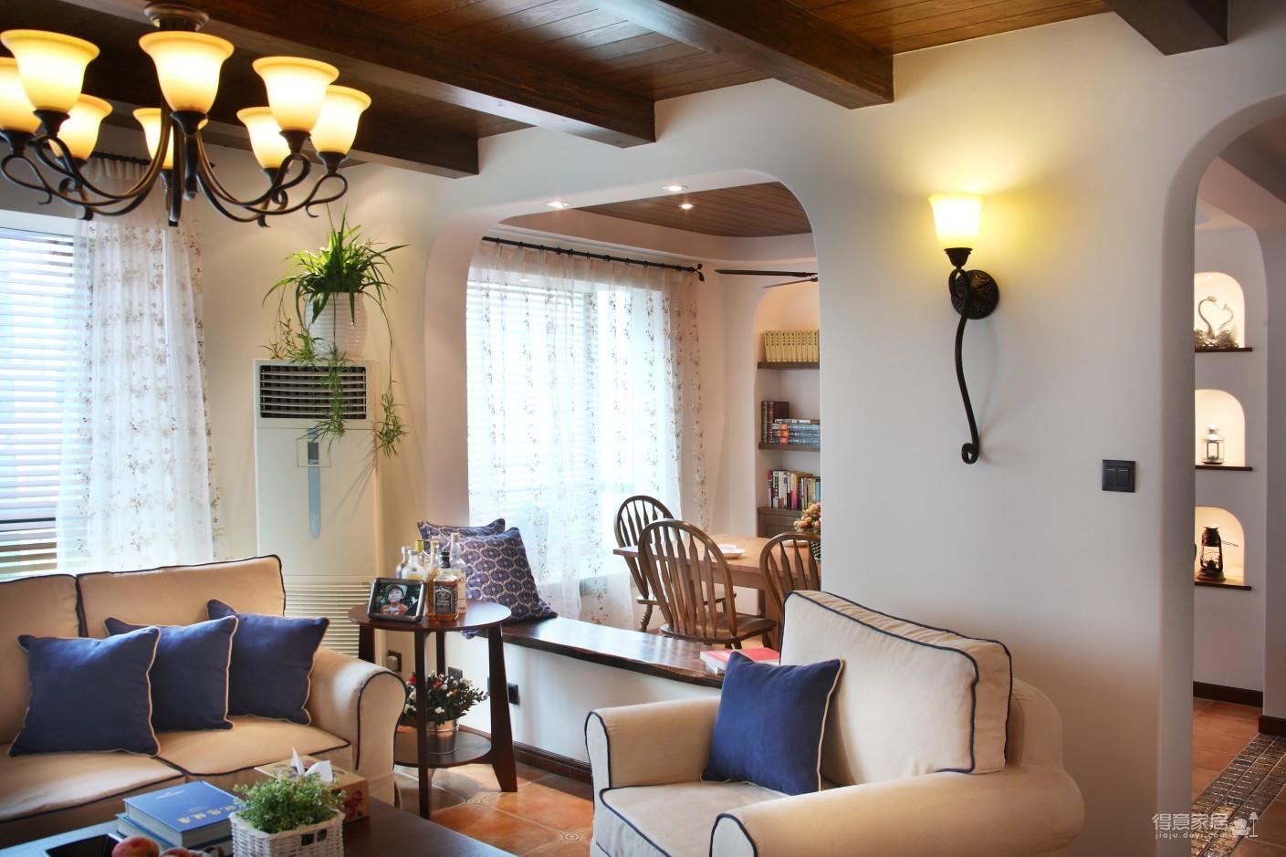 130㎡空间里的圆拱门,让家更添复古时尚气息图_6