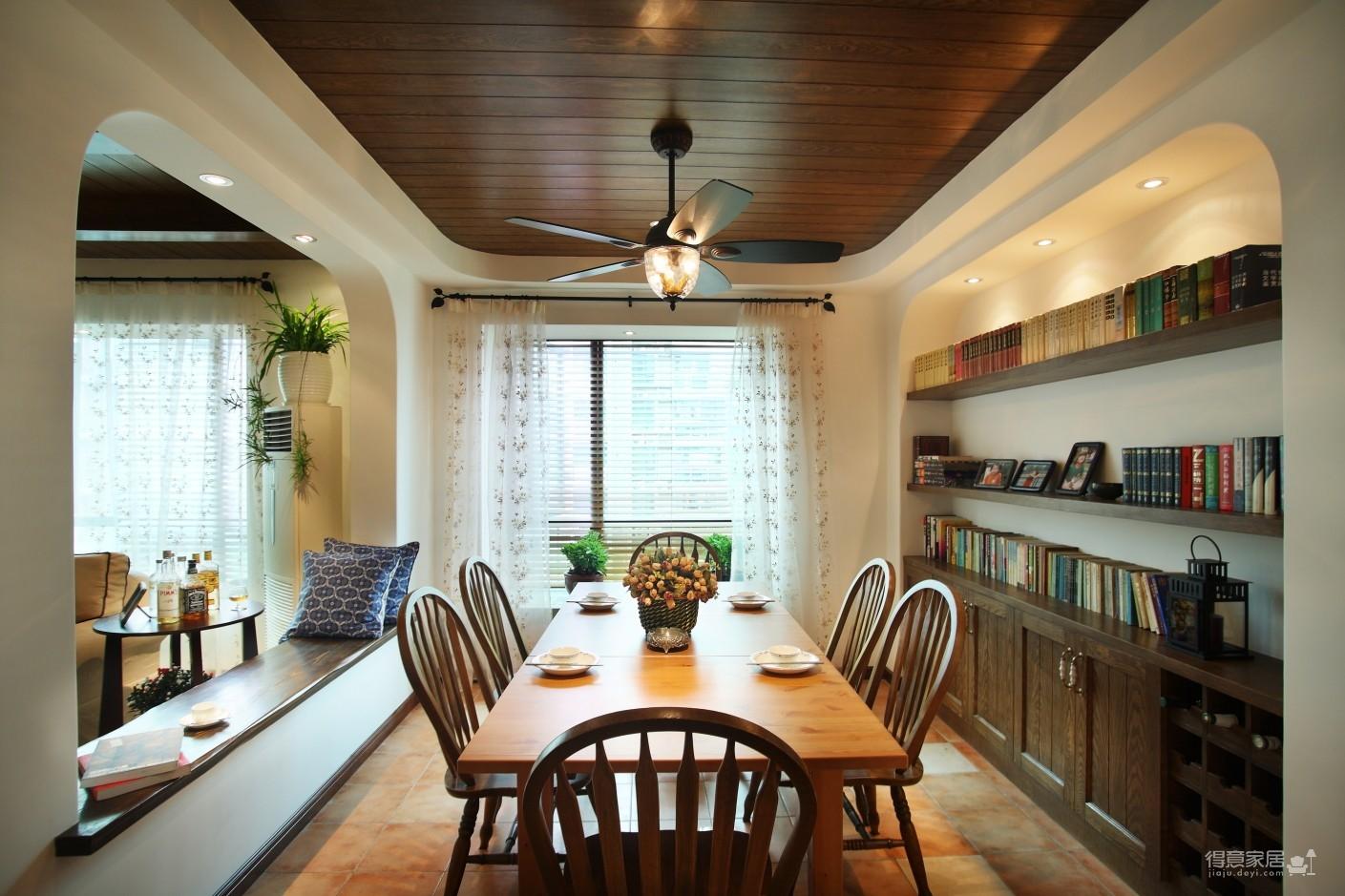 130㎡空间里的圆拱门,让家更添复古时尚气息图_17