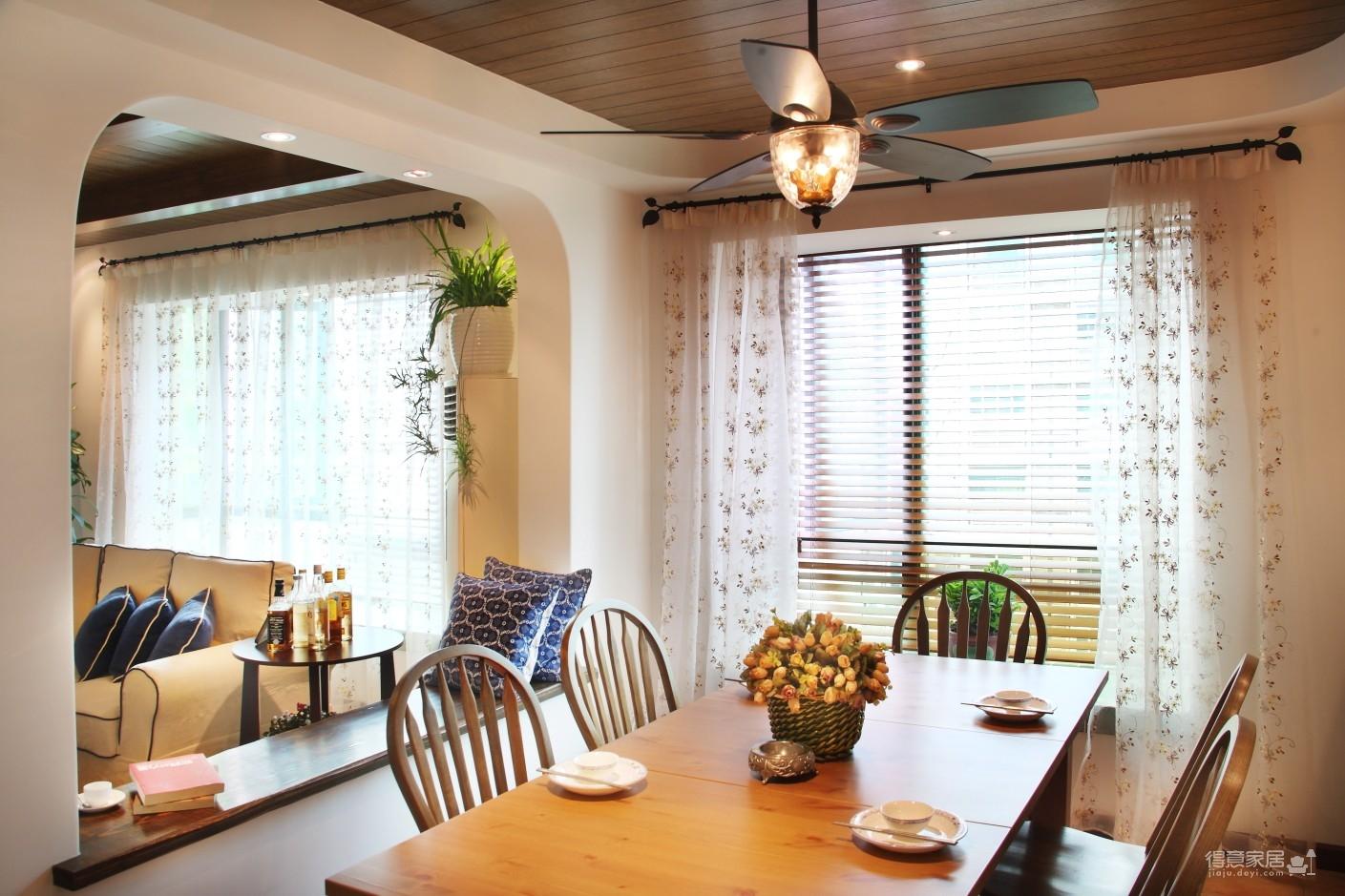 130㎡空间里的圆拱门,让家更添复古时尚气息图_10