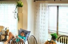 130㎡空间里的圆拱门,让家更添复古时尚气息图_18