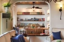 130㎡空间里的圆拱门,让家更添复古时尚气息图_12