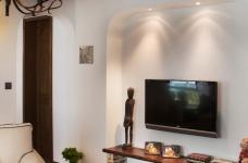 130㎡空间里的圆拱门,让家更添复古时尚气息图_13