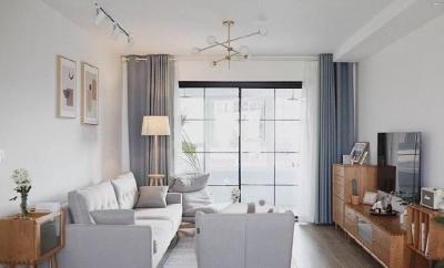 140平北欧日式混搭风,很喜欢原木风的家具搭配