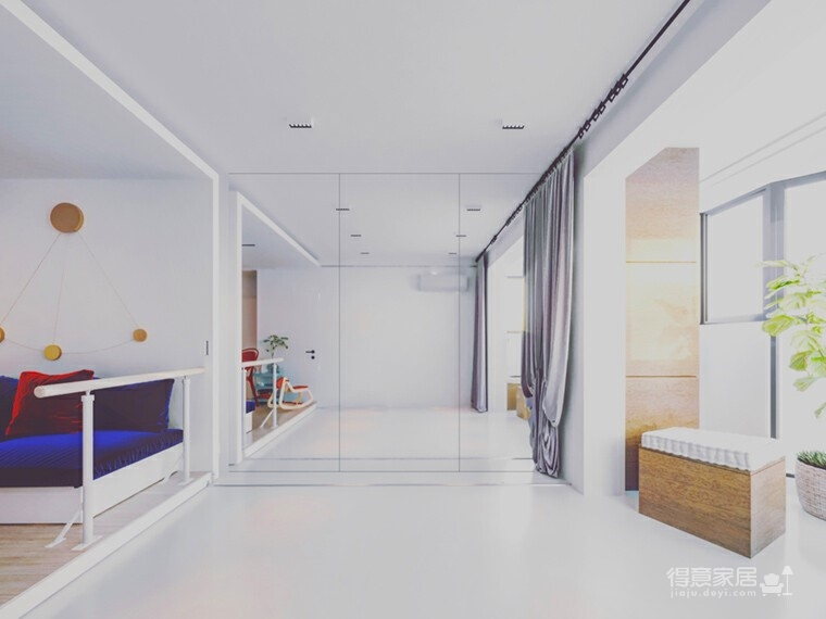 一房一厅,舞蹈家的迷你公寓