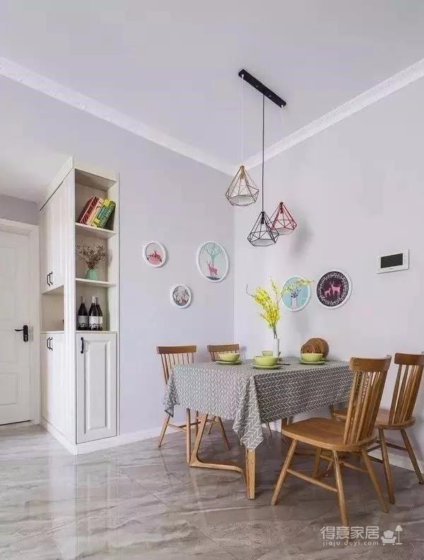 时尚多彩之家,梦想中的家,非常漂亮。简约偏北欧风的家, 灰色与白色是全屋的基色,当然少不了原木家具的登场了。图_6