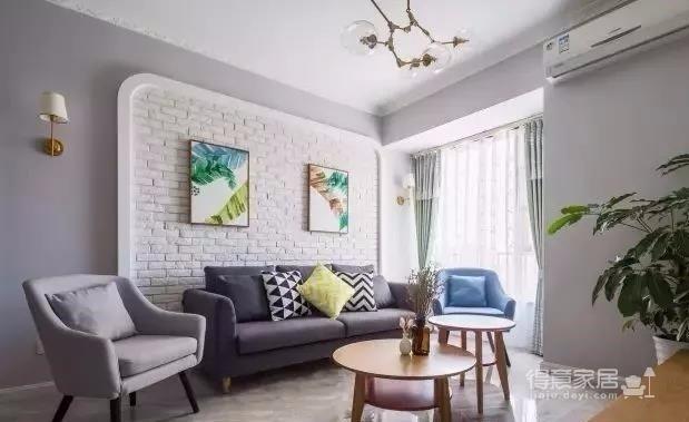 时尚多彩之家,梦想中的家,非常漂亮。简约偏北欧风的家, 灰色与白色是全屋的基色,当然少不了原木家具的登场了。图_3