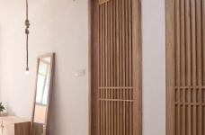 新中式风装修,客厅很棒,那一整面的柜子看着就赏心悦目,这样的中国风一点也不生硬图_3