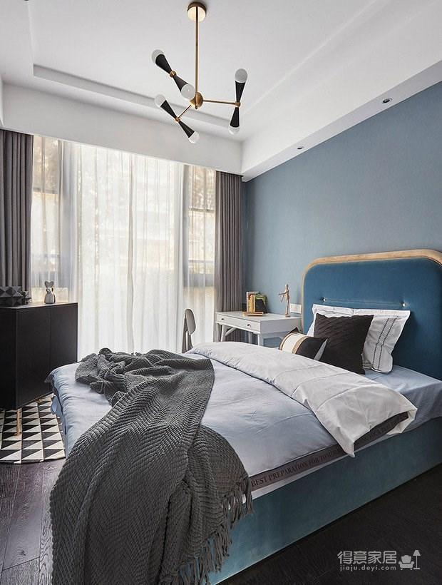 110㎡现代轻奢风格家居装修,一个精致而时尚的爱家!