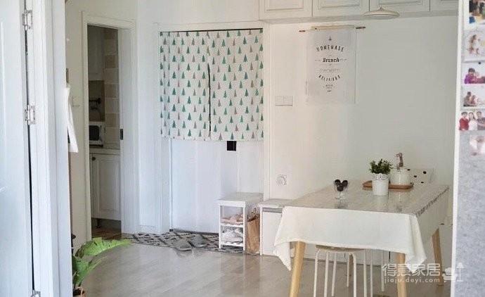 90平米两居室,用宜家装修出温馨宽敞的小家