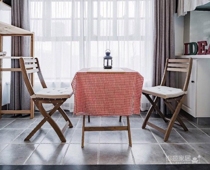 90㎡北欧风格家居装修设计,温馨舒适文艺范儿空间! 
