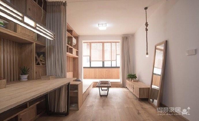 新中式风装修,客厅很棒,那一整面的柜子看着就赏心悦目,这样的中国风一点也不生硬图_4