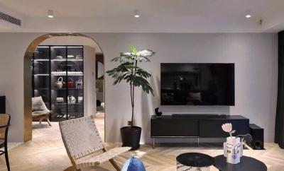 103平精致北欧风装修,推荐开放式厨房设计了,感觉虽然处在不同的区域,但是感觉共处在同一个空间,让家人可以更好的互动